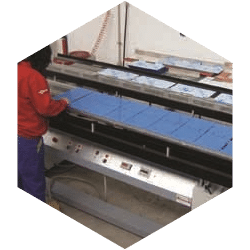 Processing of plastic sheets